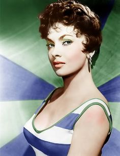 Gina Italian Actress Colorised by me Feel free to comment Gina Lollobrigida 2 Colour Italian Women, Italian Beauty, Italian Style, Italian Actress, Old Actress, Vintage Glamour, Vintage Beauty, Vintage Hollywood, Classic Hollywood