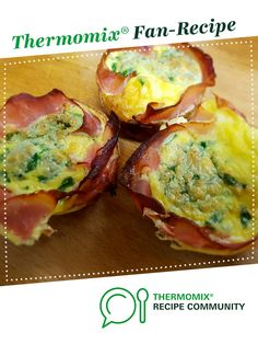 Recipe LCHF Breakfast Frittata / Keto Egg & Ham Muffins by learn to make this recipe easily in your kitchen machine and discover other Thermomix recipes in Baking - savoury. Thermomix Recipes Healthy, Low Carb Recipes, Keto Meal Plan, Meal Prep, Breakfast Frittata, Frittata Recipes, Breakfast Recipes, Muffin Recipes, Recipes
