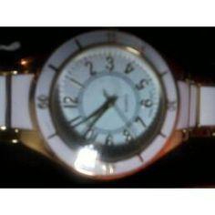 Sporty Goldtone Bracelet Watch - Quartz Movement - Avon $19.99