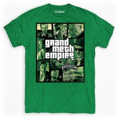 Grand Meth Empire Albuquerque Tee in Royal or Kelly by threadpower