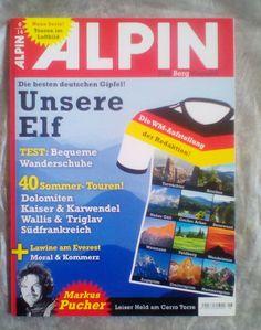 ALPIN!Das Berg Magazin!!UNSERE ELF!UNSERE ELF!NEU!