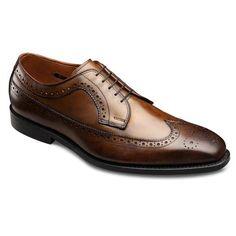 Larchmont - Long Wingtip Lace-up Mens Dress Shoes by Allen Edmonds Versace Men, Gucci Men, Allen Edmonds Shoes, Dressy Shoes, Shoes Online, Calves, Men's Shoes, Oxford Shoes, Lace Up