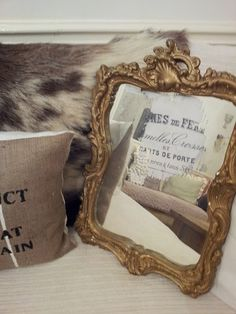 10 Tutorials on How to Antique a Mirror   So Much Better With Age