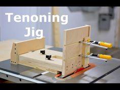 Self positioning tenon jig, YouTube
