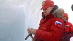 Eiszeit für die Demokratie: Russlands Präsident Wladimir Putin bei einem Besuch der arktischen Inselgruppe Franz-Josef-Land.