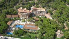 Hotel Palasiet desde el aire