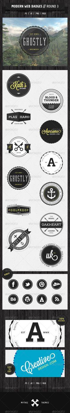 Modern Web Badges - Round 3