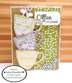 Stamps At Play: Coffee, YES Please!