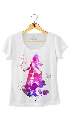 T-shirts+Disney+aquarela