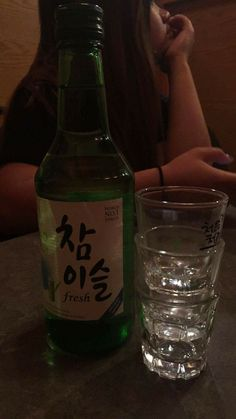 Korean wine soju