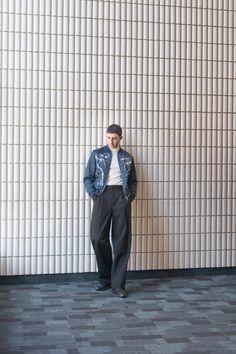 Majid Jordan for Ssense. Photo by Dominik Tarabanski. Styling by Mark Jen Hsu. Majid Jordan, Self Motivation, Clothes Line, Back To School, Eye Candy, Jordans, Menswear, Normcore, Mens Fashion
