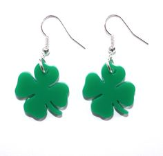 Sour Cherry - Four Leaf Clover Earrings, £8.00 (http://www.sourcherry.co.uk/four-leaf-clover-earrings/)