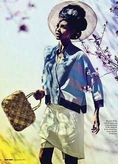 Marie Claire SA fashion shoot, african fashion, South Africa, Black Geisha