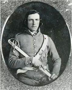 Major John T. Hambrick 13th NC State Troops (3rd NC Volunteers)  in the uniform he wore during the Mexican American War.