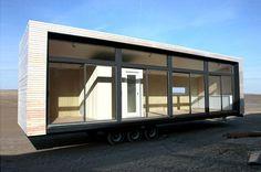 Modern trailer.