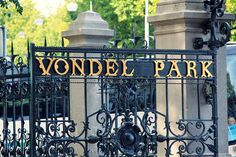 """"""" I walked in the half block from the hotel to the Vondel Park"""" ( . ).On their last day in Amsterdam, Hazel and Augustus walked to the Vondel Park for one last visit of the beautiful Amsterdam."""