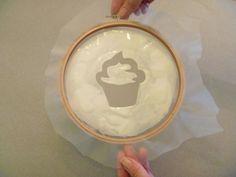 Small Batch Screen Printing Tutorial — Using Embroidery Hoops DIY screen printing tutorial. Tamara, Diy Screen Printing, Embroidery Hoop Crafts, Textiles, Stencil Diy, Fabric Painting, Diy Tutorial, Printing On Fabric, Diy Crafts