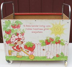 Strawberry Shortcake Toy Box