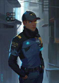 Detroit become human Markus By: - Zip (artstation)