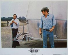 Slither Lobby Card #5, 1973, MGM, Condition NM, size 11 x 14, stars James Caan, Peter Boyle, Sally Kellerman, Louise Lasser, Allen Garfield, and Richard B. Shull. Written by W. D. Richter. Directed by Howard Zieff. $9