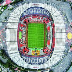 Soccer Stadium, Football Stadiums, Mexico 86, Stadium Architecture, Soccer Kits, Community, Temples, Soccer, Club America