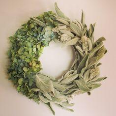 wreath リース ドライフラワー