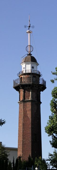 Latarnia w Nowym Porcie   #gdansk #sightseeing #lighthouse