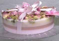 Soap cake - do this in gradient pink layers with frosting on top                                                                                                                                                      More
