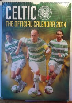 Celtic FC Hoops 2014 Calendar new in original packaging Scottish Premier League - Marvelous Marvin Murphy's Soccer Gear, Football Gear, Soccer Tips, Best Dad Gifts, Daddy Gifts, Happy Fathers Day, Gifts For Father, Anthony Stokes, Fraser Forster