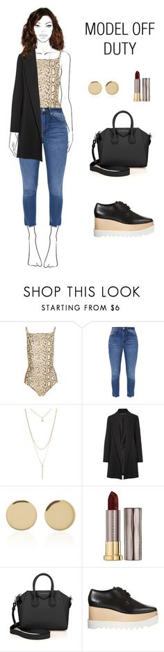 """""""#modeloffduty"""" by magnesium3 ❤ liked on Polyvore featuring Zimmermann, Forever 21, The Row, Magdalena Frackowiak, Urban Decay, Givenchy, STELLA McCARTNEY and modeloffduty"""