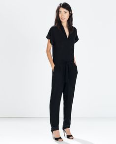 Image 2 of LONG JUMPSUIT from Zara