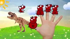 #PEPPA PIG vs #DINOSAUR Peppa MAKEUP LOVE STORY #Finger Family #Nursery ...