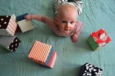 Fabric Blocks | 29 Easy And Adorable Things To Make For Babies