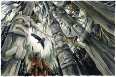 """Raven's Wood"" par Jody Bergsma"
