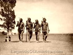 Arikara Medicine Men, 1908