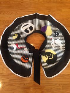 Hey, I found this really awesome Etsy listing at https://www.etsy.com/listing/254798298/tree-skirt-jack-skellington-sally-the