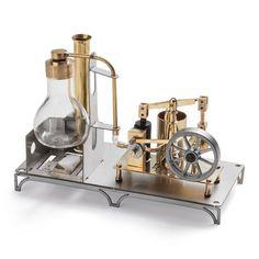 Steampunk toys - steam engine