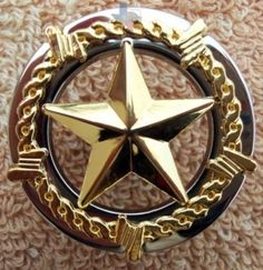 Western Decor Knob Texas Star Cabinet Hardware Knobs Drawer Pulls CP272NB