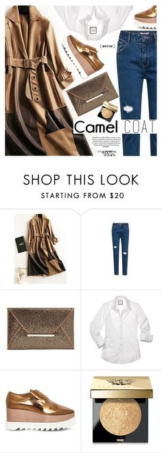 """Street Style"" by metisu-fashion ❤ liked on Polyvore featuring STELLA McCARTNEY, Bobbi Brown Cosmetics, polyvoreeditorial, polyvoreset and metisu"