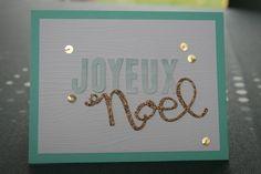 Sophiebio Kit Noel en aquarelle Stampin up!