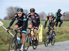 #IanStannard's #OmloopHetNieuwsblad win in pictures - Luke Rowe was also active in the race, and went on to finish ninth