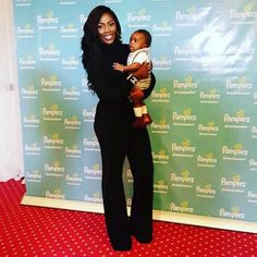 Mabel Naija's Blog (MNB)                                                      : CELEBRITY KID: Tiwa Savage's & Her Son Debut Red C...