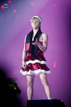 Pretty jinhwan in santa dress K Pop, Bobby, Guys In Skirts, Ikon Member, Yg Entertaiment, Ikon Kpop, Ikon Debut, Ikon Wallpaper, Kpop Memes