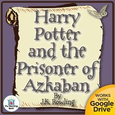 Harry Potter and the Prisoner of Azkaban Novel Study is a Common Core Standard aligned book unit to be used with Harry Potter and the Prisoner of Azkaban by J.K. Rowling. This download contains both a printable format as well as a Google Drive compatible format.This is a complete novel study that includes many individual products bundled together to offer you extensive savings!