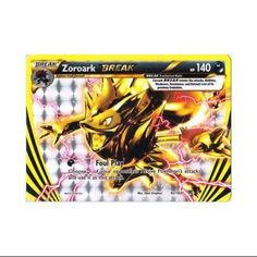 "Pokemon X & Y BREAKthrough Single Card BREAK Rare Zoroark BREAK <a class=""pintag searchlink"" data-query=""%2392"" data-type=""hashtag"" href=""/search/?q=%2392&rs=hashtag"" rel=""nofollow"" title=""#92 search Pinterest"">#92</a>"