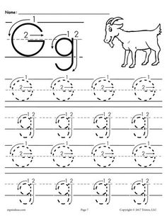 printable letter g tracing worksheets for preschool printable coloring pages for kids child. Black Bedroom Furniture Sets. Home Design Ideas