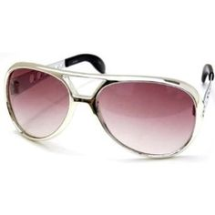 QLook Elvis Pressley Style Sunglasses Burning Love, Silver QLook. $6.99