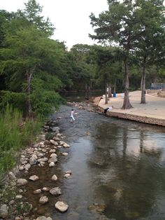 Comal River in New Braunfels, TX