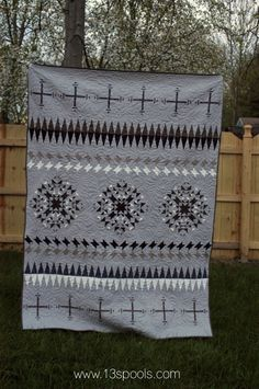 Tribal Rose Quilt - 13 Spools