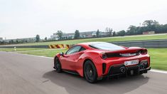 We set off to the legendary Fiorano test track to sample the Ferrari 488 Pista, the Italian brand's latest mid-engined, monster. Proving Grounds, Things To Know, 5 Things, Ferrari 488, Super Cars, Vehicles, Uber, Photos, Photographs